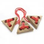 เกมส์ปลดล๊อคเงื่อนปม สามเหลี่ยมไม้หรรษา ของเล่นมหาสนุก เกมส์ไม้