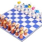 เกมส์หมากรุกสัตว์หรรษา ของเล่นไม้ฝึกสมอง ของเล่นเสริมเชาน์ปัญญา