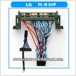 LVDS CABLE FI-R51P 51 Pin 2ch 8 bit Power L LG PANEL
