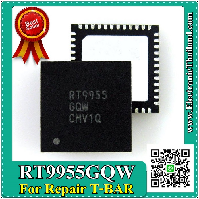RT9955GQW RT9955 IC .For Repair On T-BAR