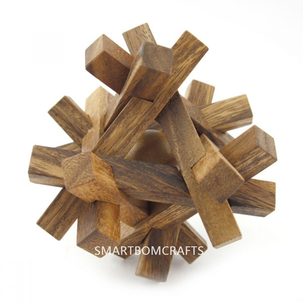 ล้อมกรอบบอลจิ๋ว เกมส์ไม้ฝึกทักษะการคิด ของเล่นฝึกสมอง ของเล่นไม้