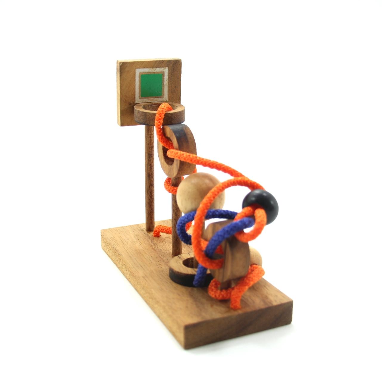 บาสเกตบอล Shoot ของเล่นไม้ ของเล่นเสริมพัฒนาการ ของเล่นฝึกสมอง
