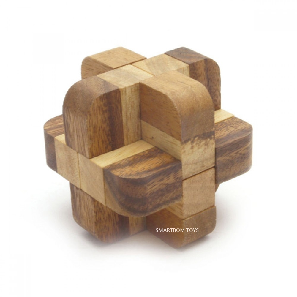 เต๋าเพชรสลับ ของเล่นไม้ ของเล่นฝึกสมอง ของเล่นเสริมสร้างพัฒนาการ