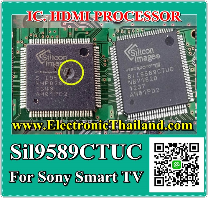 #Sil9589CTUC IC. HDMI PROCESSOR For Sony Smart TV