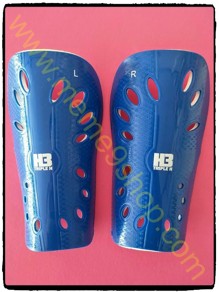 สนับแข้ง H3 ไซส์ M สีน้ำเงิน