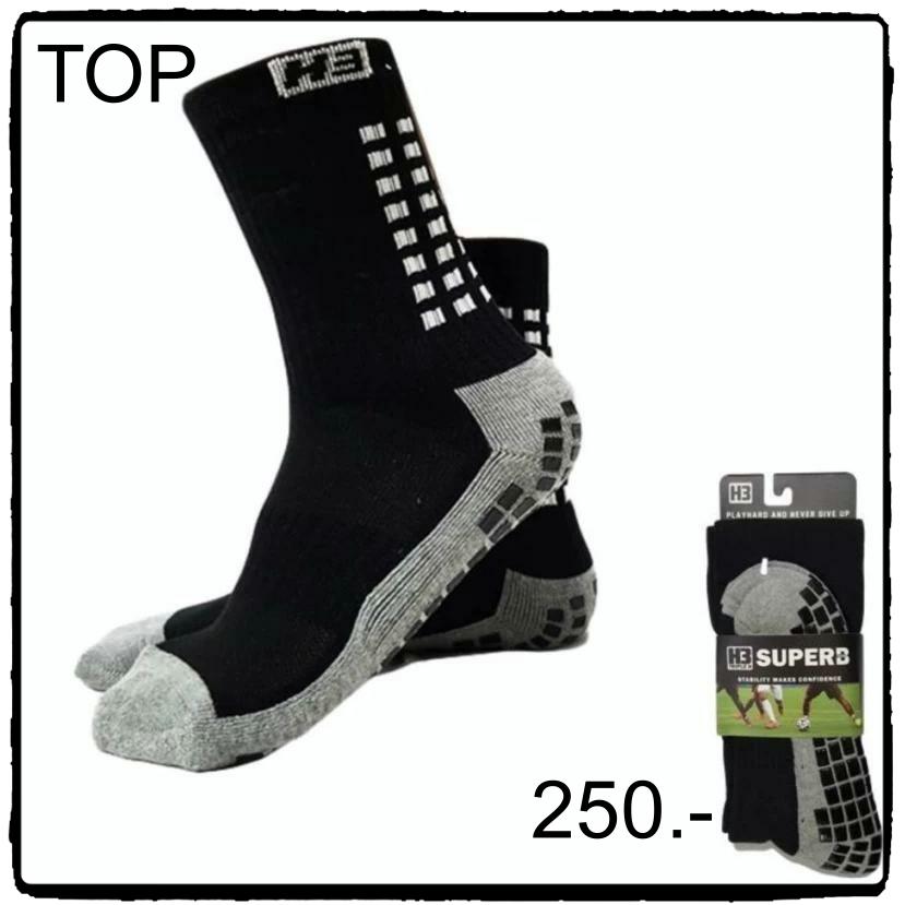 ถุงเท้ากันลื่น H3 Super สั้น (สีดำ)