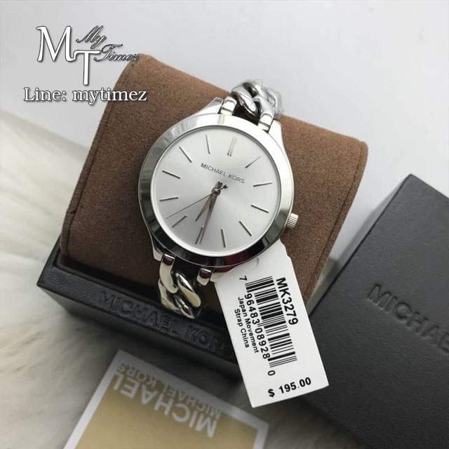 MICHAEL KORS Slim Runway White Dial Ladies Watch MK3279