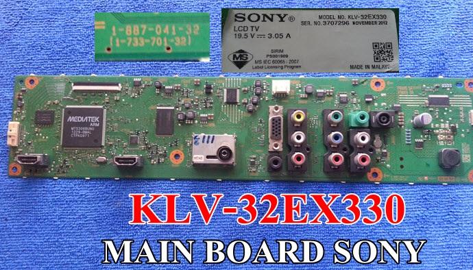 เมนบอร์ด SONY KLV-32EX330