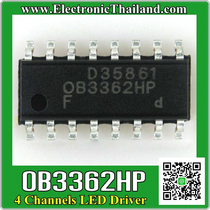 OB3362HP 4 Channels LED Driver