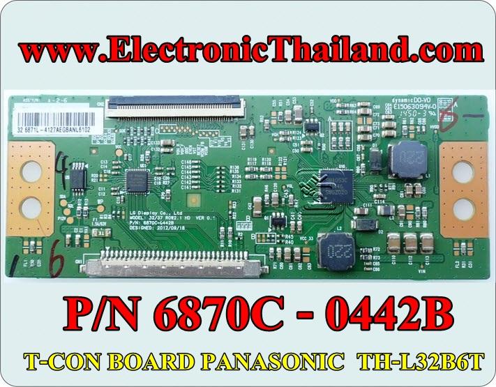 #T-CON BOARD PANASONIC TH-L32B6T TH-32D400T