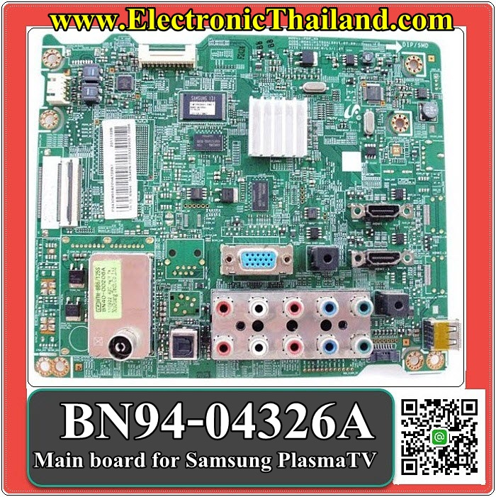 Main board for Samsung PlasmaTV PS43D450A2 BN94-04326A