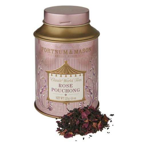 Fortnum & Mason : Rose Pouchong Tea, 125g Loose Leaf Tin