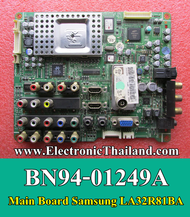 #Main Board Samsung LA32S81B BN94-01249A