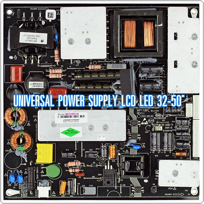 """Universal Power Supply LCD LED 32-50"""""""