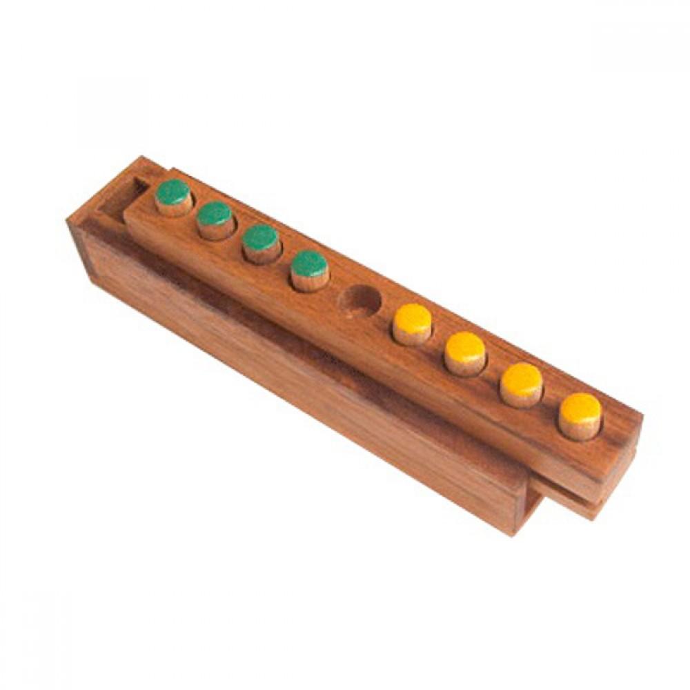 เกมส์ไม้เปลี่ยนสีสี่ ของเล่นเพื่อความเพลิดเพลิน ของเล่นฝึกสมอง