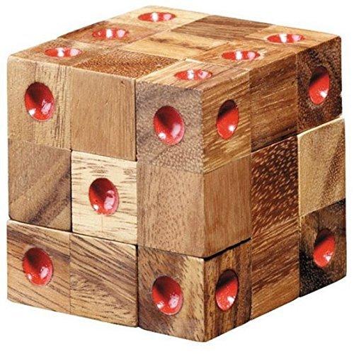 เกมส์เต๋าโดมิโน Domino Wood Puzzle เกมส์ฝึกเชาน์ ฝึกสมองและการคิด