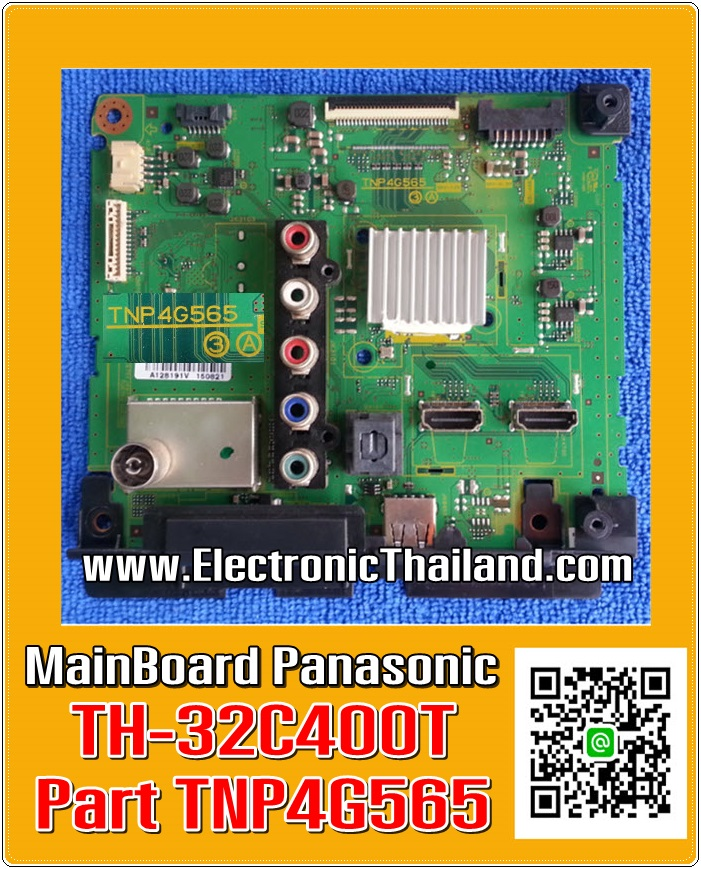 MainBoard Panasonic TH-32D400T TH-32C400T Part TNP4G565