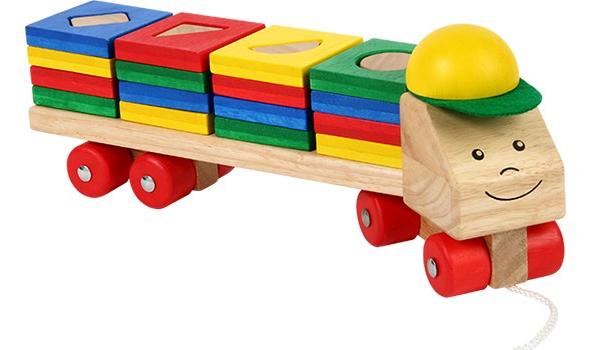 รถบรรทุกแสนสนุก ของเล่นเสริมสร้างจินตนาการ ของเล่นเสริมพัฒนาการ