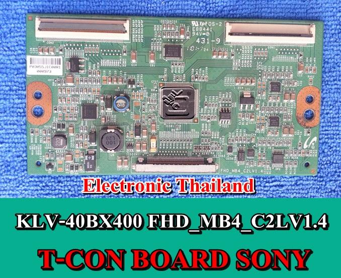 #T-CON BOARD SONY KLV-40BX400 FHD_MB4_C2LV1.4