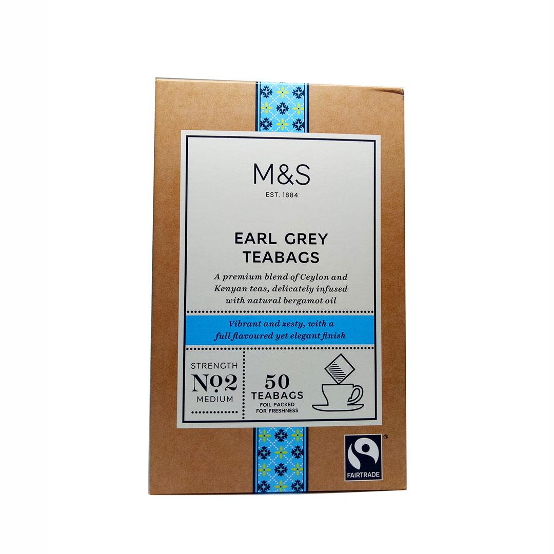 Mark & Spencer - Earl Grey Tea 50 Teabags
