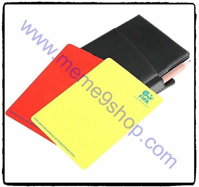ใบเหลือง+ใบแดง ฟุตบอล FIFA