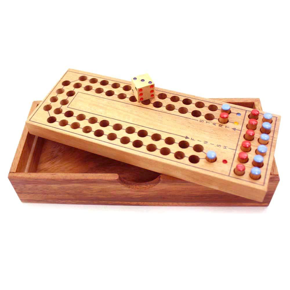 เกมส์ม้าแข่งแสนสนุก ของเล่นไม้ ของขวัญช่วงปีใหม่ ของเล่นพัฒนาสมอง