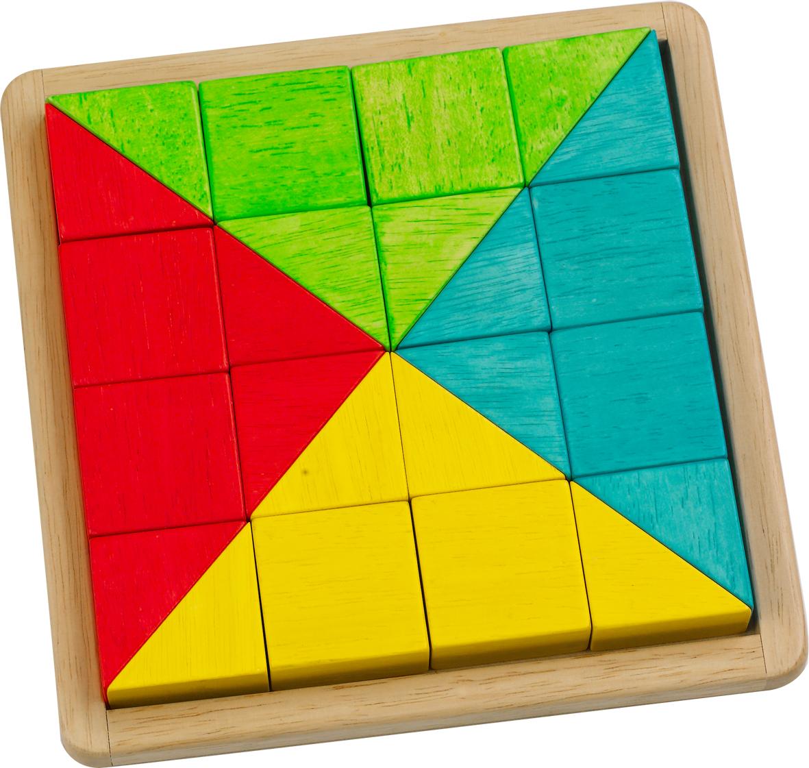 ของเล่นเสริมสร้างจินตนาการ ของเล่นฝึกสมอง กระดานไม้รูปทรงพื้นฐาน