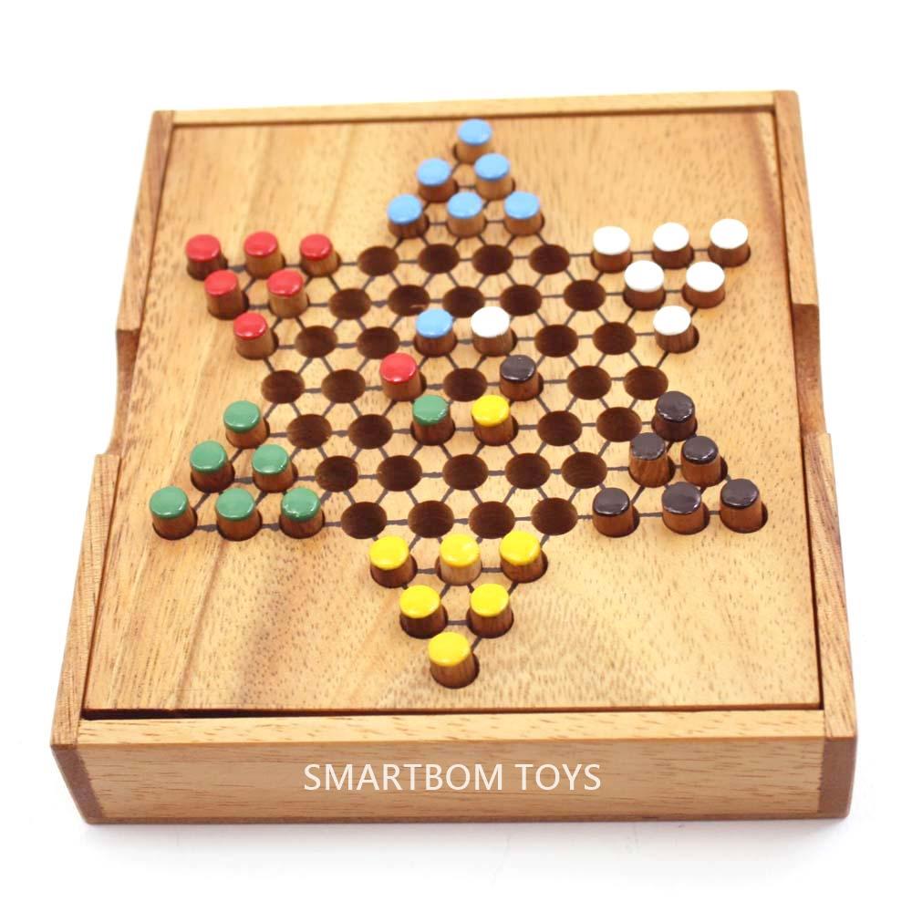 Chinese Checker ดาวพับ 6 ของเล่นฝึกสมอง ของเล่นไม้พัฒนาสมอง