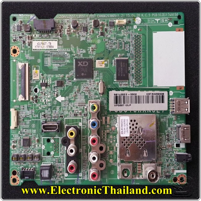 MainBoard 42LF550T 42LF560T EAX66203805(1.2) EBT63459306