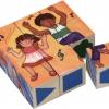ลูกเต๋าหรรษา บล๊อคไม้ ของเล่นเสริมพัฒนาการเด็ก ของเล่นฝึกการสังเกต