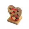 หัวใจร้อยรัก ของเล่นเสริมสร้างการเรียนรู้ ของเล่นเด็ก ของเล่นไม้
