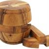 เกมส์บล๊อคไม้ ถังเบียร์ ตัวต่อไม้ ของเล่นฝึกสมองและทักษะการคิด