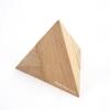ปิรามิดสองชิ้น ของเล่นฝึกสมอง ของเล่นเสริมสร้างสติปัญญา เกมส์ไม้