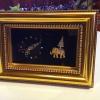 ของตกแต่งสวยงาม ของตกแต่งบนโต๊ะทำงาน กรอบรูปนาฬิกา