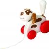 น้องหมาพาเพลิน ของเล่นเสริมสร้างจินตนาการ ของเล่นลากจูง เกมส์ไม้