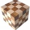 เกมส์ไม้ เต๋างู Snake Cube Wooden Game เกมส์ฝึกทักษะ และฝึกการคิด