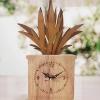 กล่องไม้นาฬิกา ต้นหญ้า งานหัตถกรรมแนวประยุกต์ เป็นของฝากที่ระลึก