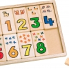 ถาดนับตัวเลข ของเล่นเสริมพัฒนาการ ช่วยฝึกความจำกับตัวเลขพื้นฐาน