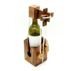 เกมส์ปมเชือกขวดไวน์ ของเล่นไม้ ของเล่นฝึกสมอง ของเล่นพัฒนาสมอง