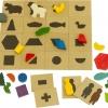 จับคู่มหาสนุก ของเล่นฝึกทักษะ ของเล่นไม้ ของเล่นฝึกสมอง เกมส์ไม้