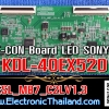 #T-CON Board LED SONY KDL-40EX520 ESL_MB7_C2LV1.3