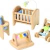 ของเล่นเสริมสร้างจิตนาการ ของเล่นไม้ กับแบบจำลอง ชุดห้องนอนเด็ก