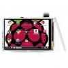จอภาพระบบสัมผัส 3.5 นิ้ว 480x320 จุด Raspberry Pi LCD TFT Touch Screen Display สำหรับ Raspberry pi 3 Model B พร้อมปากกา Stylus