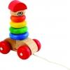 รถเลื่อนห่วงพาเพลิน ของเล่นเสริมสร้างการเรียนรู้ ของเล่นฝึกทักษะ