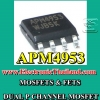 #MOSFETS & FETS » APM4953 DUAL P CHANNEL MOSFET