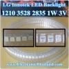 LG Innotek LED Backlight 1210 3528 2835 1W 3V 100LM Cool white
