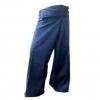 กางเกงเลสีกรมท่า กางเกงขาก๊วยยาว เหมาะเป็นของขวัญ ของฝากที่ระลึก