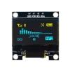 จอภาพ OLED ขนาด 0.96 นิ้ว สีเหลือง-ฟ้าแก่ ความละเอียด128X64 I2C SSD1306 12864 สำหรับ Arduino บรรจุอยู่ในกล่องพลาสติกอย่างดี