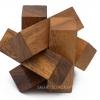 เกมส์ไม้ Lumberjack ไม้ไขว้ปริศนา ของเล่นเสริมพัฒนาการ ของเล่นไม้