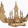 ตัวต่อเอกลักษณ์ไทย เรืออนันตนาคราช โมเดลไม้สามมิติ ของเอกลักษณ์ไทย